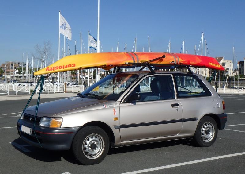 barre de toit kayak