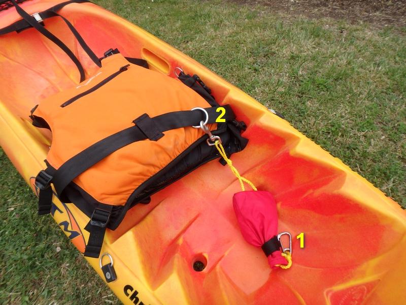bout de remorquage kayak